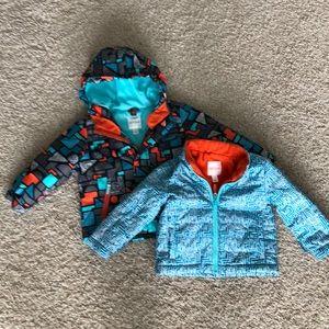 Cat & Jack Sz 2T 3-in-1 winter coat EUC